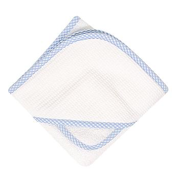 Blue & White Gingham Towel & Wash Set